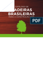 Catalogo de Madeiras Para a Construcao Civilrasileiras