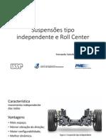 Suspensões Tipo Independente e Roll Center