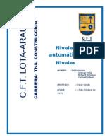 Que Son Los Niveles Automáticos y Mecánicos