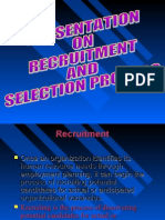 15784511 PresentationRecruitment and Selection Process