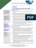 Brief GST, 2014