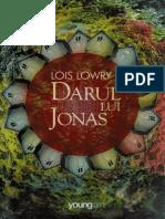 Lois Lowry Darul Lui Jonas