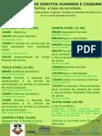 Programação Da III Jornada de Direitos Humanos