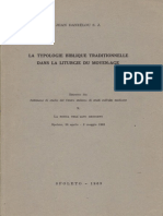 Typologie Biblique Traditionnel - JEAN DANIELOU