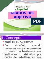 grados del adjetivo en espanhol