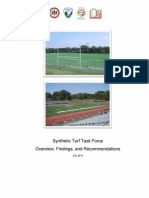 Fairfax County Artificial Turf Report