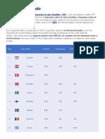 El IVA en el mundo