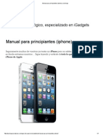 Manual Para Principiantes (iPhone)