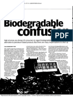 Biodegradable Confusion