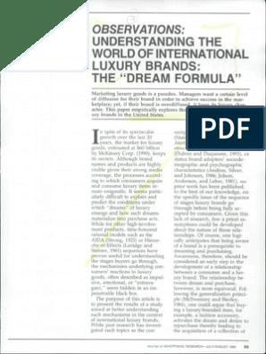 Understanding the World of International Luxury Brands- The