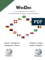 Deutsch Portugiesisch Wörterbuch