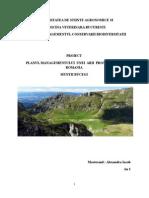 Planul de Management al Parcului Natural Bucegi