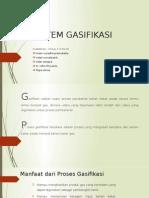 sistem gasifikasi
