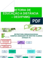Ead Ifnmg Visão Geral 2015