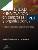 Creatividad e inovación en empresas y organizaciones