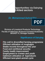 Livelihood via Dairying and Allied Sectors