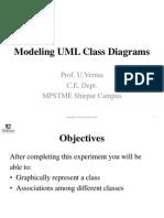 Exp 4 Modeling UML Class Diagrams