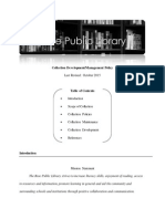 rose public library cm policy lis 610  2