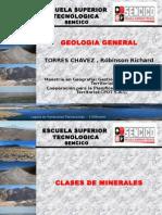 Clases y Tipos de Minerales