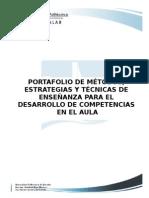 portafolio de estrategias didacticas para el desarrollo de competencias en el aula