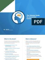 Conversion Centered Design Guide
