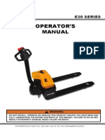 Elektro Paletni ODLICNO E30-Operator-Guide