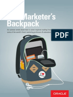 The marketer's backpack