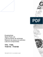 EnviroAire T 75-160 Parts Manual