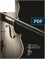 Repertoriu Cvartet ADAGIO - Arad