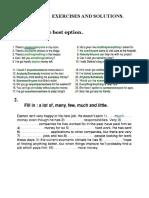 Quantifiers Exercises 2