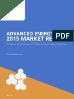 Aen 2015 Market Report