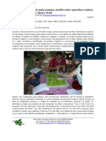 Rede Verde supports the Scientific Research on Organic Farming in Foz do Iguaçu, Brazil (Portuguese)