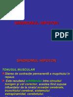 Sindromul Hipoton Neuropediatrie