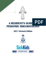 Resident Guide to Pediatric Rheumatology 2011