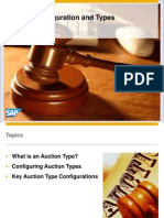 SAP Sourcing Webcast - Auction Configuration and Types