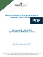 Guia de Inscripciones Supersubsidio Familiar