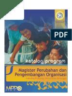 Katalog MPPO (Magister Perubahan dan Pengembangan Organisasi)