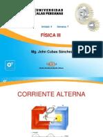 Ayuda 7 - Corriente Alterna y Circuitos Eléctricos de CA