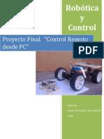 proyecto robotica pic 16f84A