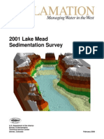 2001 Lake Mead Sedimentation Survey