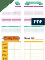 Calendar/planner