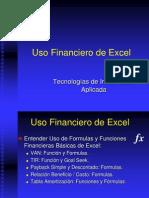 Uso Financiero de Excel