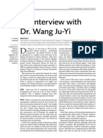 Interview With Wang Juyi