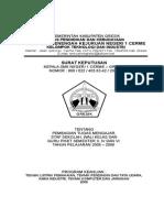 Cover Pemtug dan SK Mengajar Sem GENAP 05-06.doc