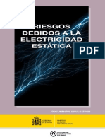 Riesgos Debidos a La Electricidad Estatica