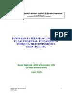 35_programa en Terapia Ocupacional en Salud Mental Ult