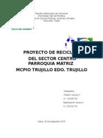 proyecto reciclaje