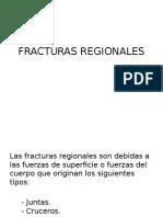 fracturas regionales