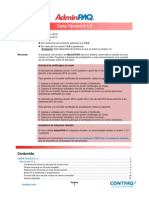 Carta Tecnica AdminPAQ 812