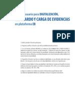 Guía Para Digitalización, Resguardo y Carga de Evidencias Educación Básica.